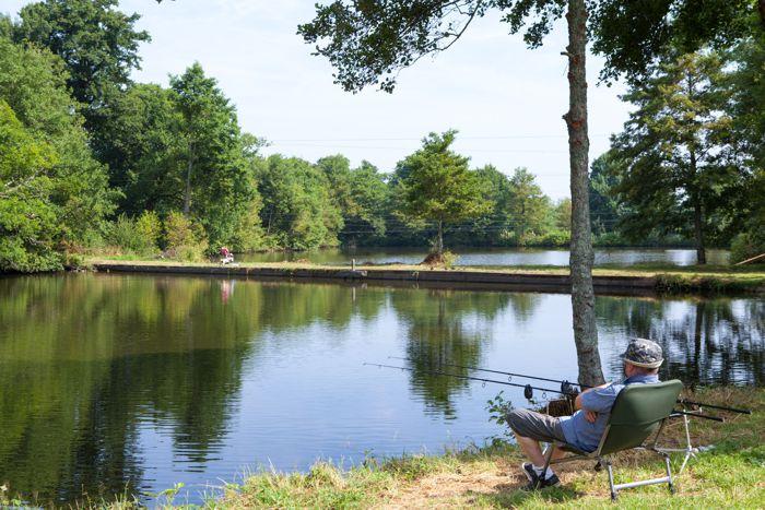 Camping avec pêche