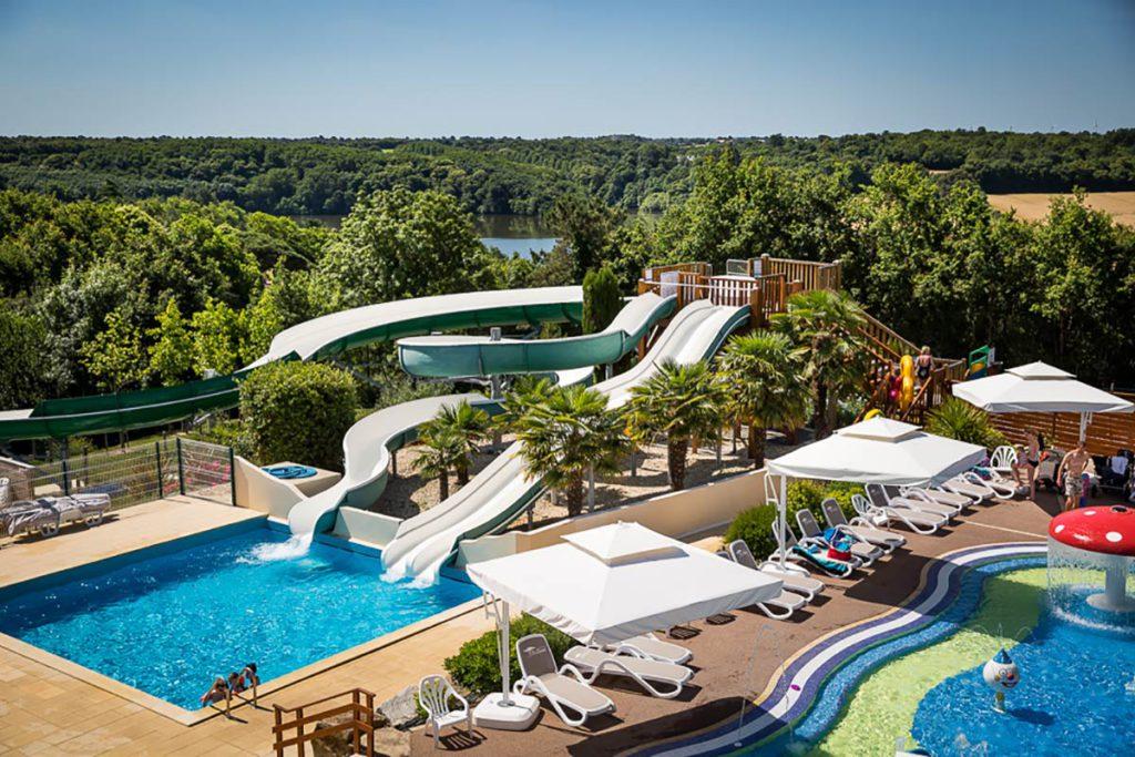 piscine d'un des plus beaux camping