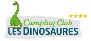 Logo du camping les Dinosaures