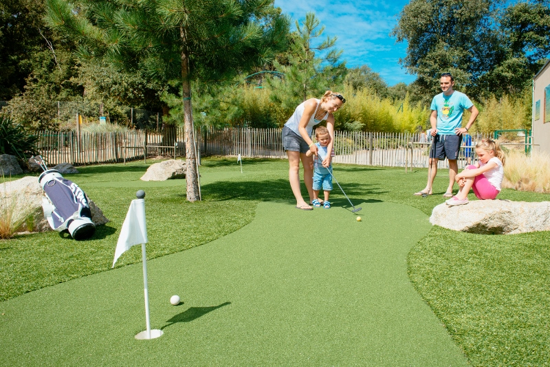 golf famille vendee camping